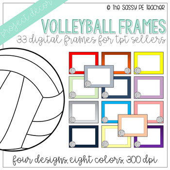 Volleyball Borders