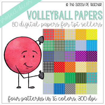 Volleyball Digital Papers