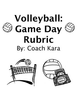 Volleyball - Game Day Rubric (GPE & APE)