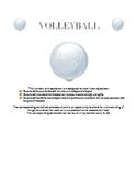 Volleyball Handout