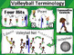 Volleyball Terminology Poster