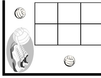 Volleyball Calendar! Volleyball Bulletin Board! Volleyball Theme! Sports!
