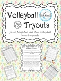 Volleyball Tryouts- Varsity and Junior Varsity Facilitation