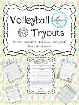 Volleyball Tryouts- Varsity and Junior Varsity Facilitation