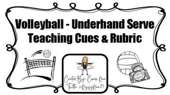 Volleyball - Underhand Server Rubric (GPE & APE)