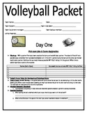 Volleyball Unit Packet: Cooperative Games and Striking