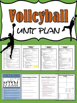 volleyball unit Volleyball is a team sport in which two teams of six players are separated by a net each team tries to score points by grounding a ball on the other team's court .