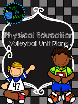 Volleyball Unit Plans