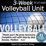 Volleyball Unit from the #1 P.E. Curriculum on TPT: 3 Weeks!