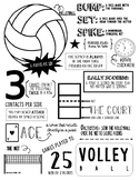 Volleyball Visual Study Guide