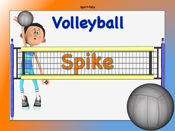 Volleyball Word Wall Signs