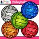 Rainbow Volleyball Clip Art   Sports Equipment for Physical Education Teachers