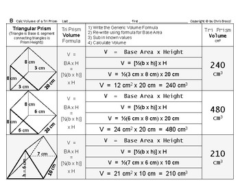 Volume 07: Volume of Triangular Prisms + How Base Area & Height Affects Volume
