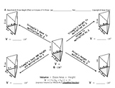 Volume 08:  Calculate Volume of Triangular Prisms & Base, Height's Effect + QUIZ