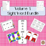 Sight Words Activities | Volume 1