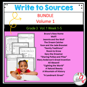 Volume 1 Write to Sources Weeks 1-5