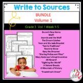 Volume 1 Write to Sources Weeks 1-5