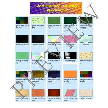 Volume 13 COMIC BACKGROUNDS for TPT Sellers / Creators / Teachers