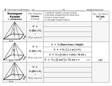 Volume 14: Volume of Rectangular Pyramids and Base Area & Height's Effect + QUIZ