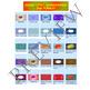 Volume 15 COMIC BACKGROUNDS for TPT Sellers / Creators / Teachers