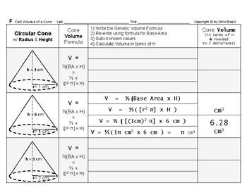 Volume 17: Volume of Common Geometric Solids