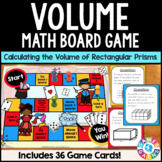 Calculating Volume of Rectangular Prisms Game {5.MD.3, 5.MD.4, 5.MD.5}