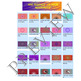 Volume 18 COMIC BACKGROUNDS for TPT Sellers / Creators / Teachers