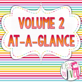 Volume 2 At-A-Glance (Mentor Sentences, Better Than Basal, & Related Items)