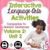 Interactive Language Arts Activities: Vol 2,SECOND Mentor