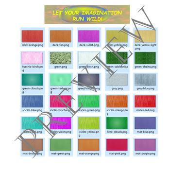Volume 21 COMIC BACKGROUNDS for TPT Sellers / Creators / Teachers
