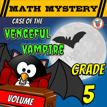 Volume Math Mystery - Review Activity