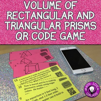 Volume Game with Triangular and Rectangular Prisms