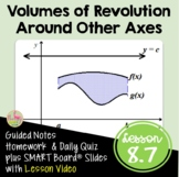 Volume of Revolution Around Other Axes with Lesson Video (Unit 8)