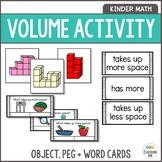 Volume Measurement Activities