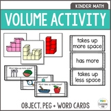 Volume Activities - Block Building Cards, Language Word Wa