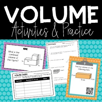 Volume Activity Packet 5.MD.3,4,5