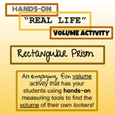 Volume Activity - Rectangular Prism
