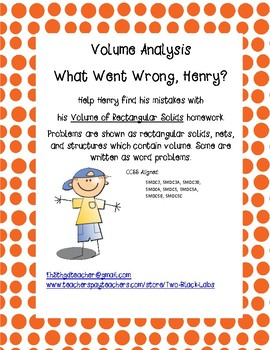 Volume Analysis:  What Went Wrong Henry?