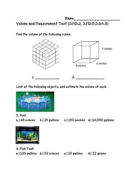 3.MD.2, 3.MD.5,3.OA.8 Volume Assessment