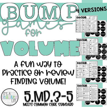 Volume BUMP Games!