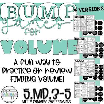 Volume BUMP Games!