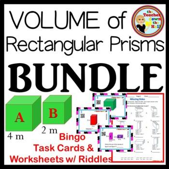 Volume BUNDLE - Bingo, Task Cards, & 3 Worksheets!!
