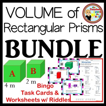 Volume BUNDLE - Bingo, Task Cards, & 3 Worksheets!!