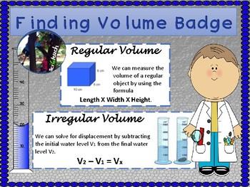 Volume Badge + Quiz + Process Skills