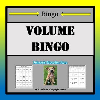 Volume Bingo (30 pre-made cards!)