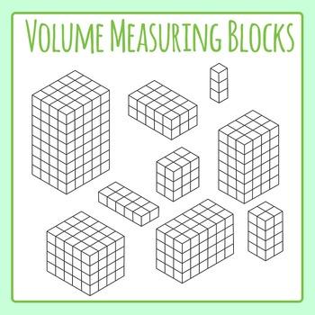Volume Blocks for Measuring Volume, Length, Width, Height