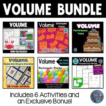Finding Volume: Math Bundle