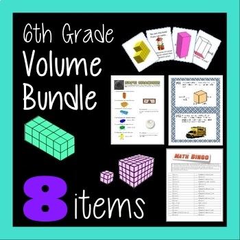 Volume Bundle - 7 High Interest Activities!