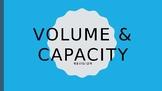 Volume & Capacity