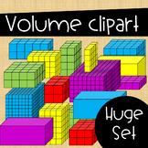Volume Clip Art ~ Huge Set of Rectangular Prisms